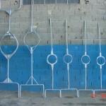 Garfos para vazamento de panelas